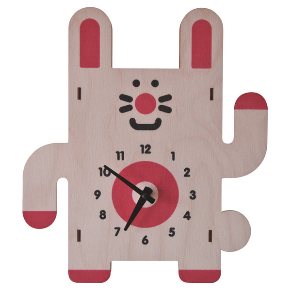 rabbit clock - modern moose - clock - 1