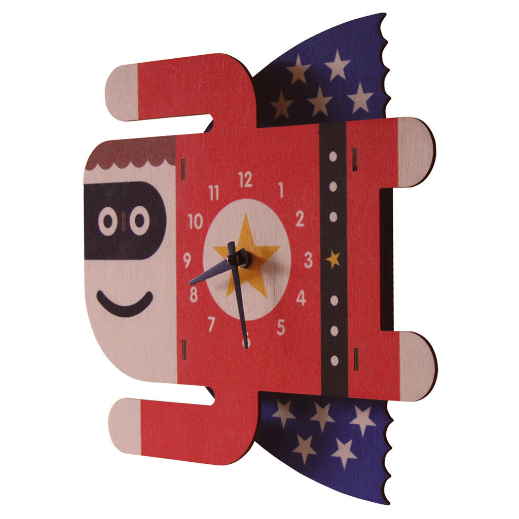 superboy clock - modern moose - clock - 2