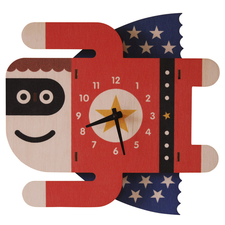 superboy clock - modern moose - clock - 1