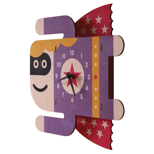 supergirl clock - modern moose - clock - 1
