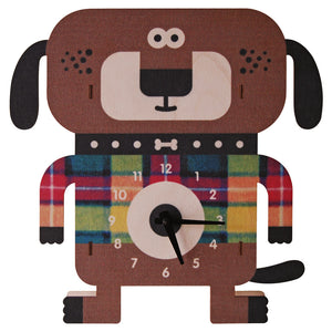 wagner dog clock - modern moose - clock - 1
