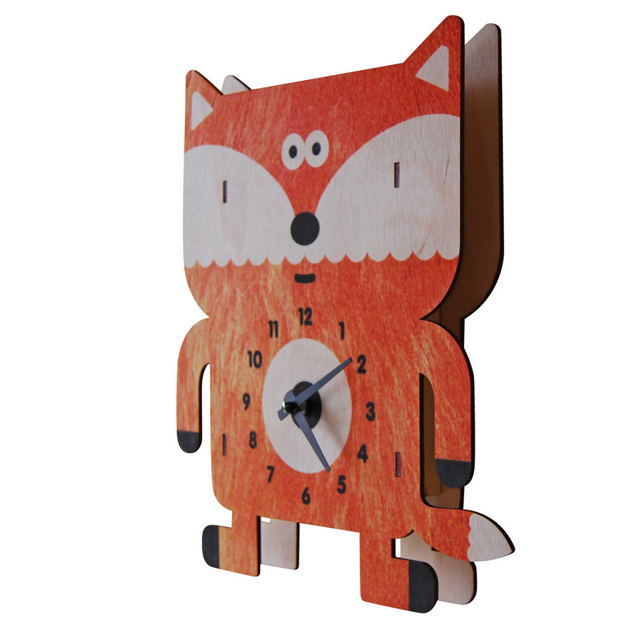 sly fox clock - modern moose - clock - 2
