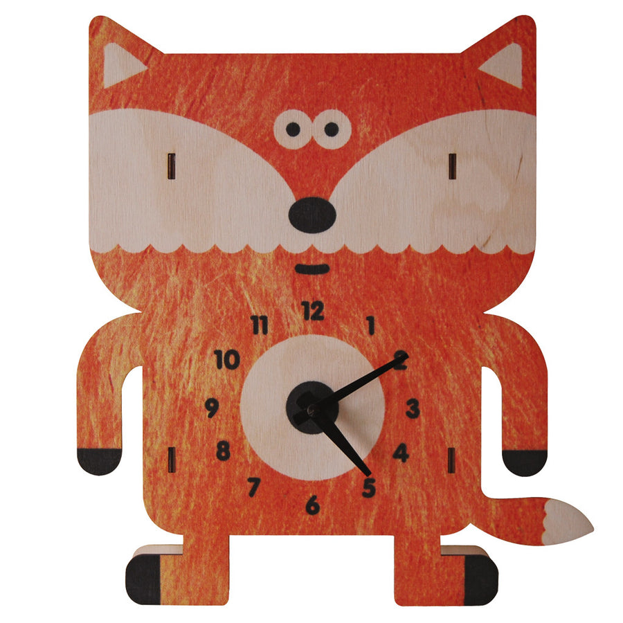 sly fox clock - modern moose - clock - 1