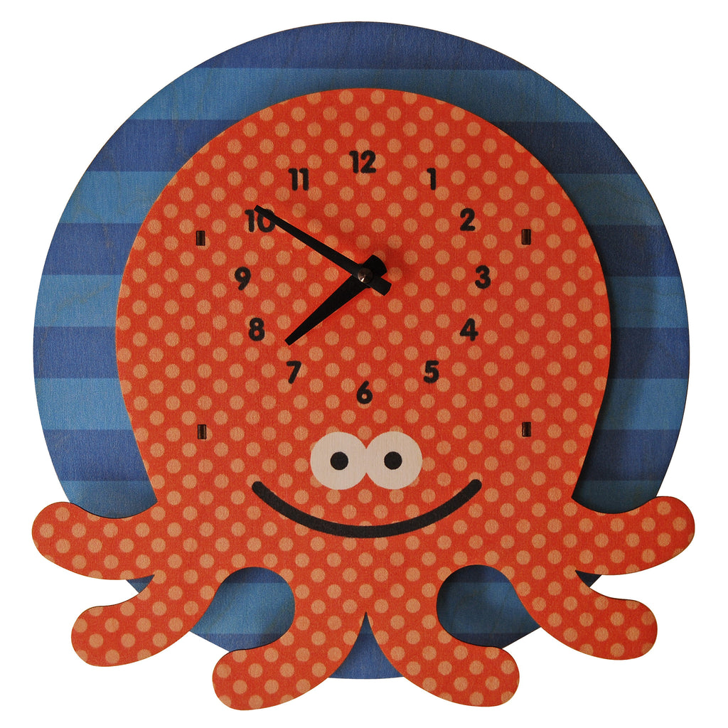 octopus clock - modern moose - clock - 1