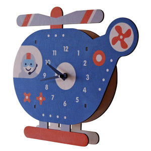 chopper clock - modern moose - clock - 2