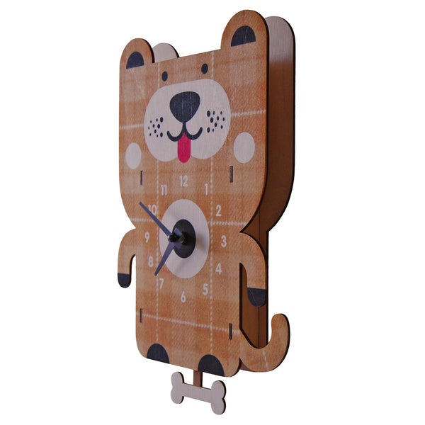 dog pendulum clock - modern moose - pendulum clock - 1