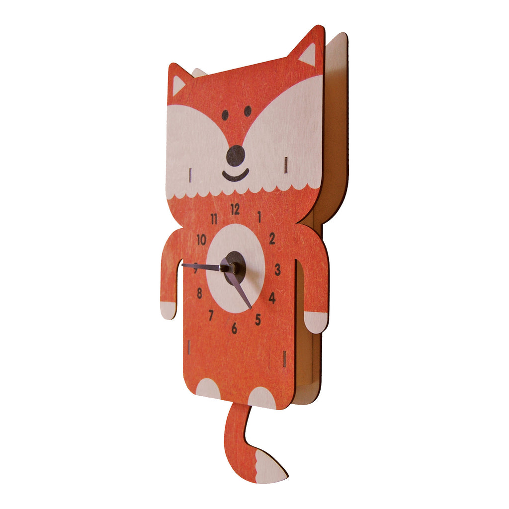 fox pendulum clock - modern moose - pendulum clock - 2