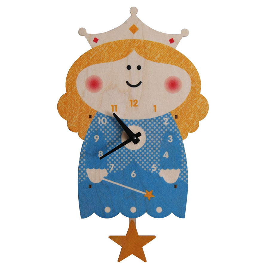 princess pendulum clock - modern moose - pendulum clock - 1
