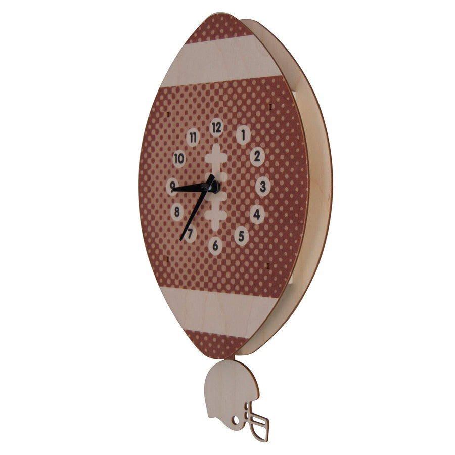 football pendulum clock - modern moose - pendulum clock - 2