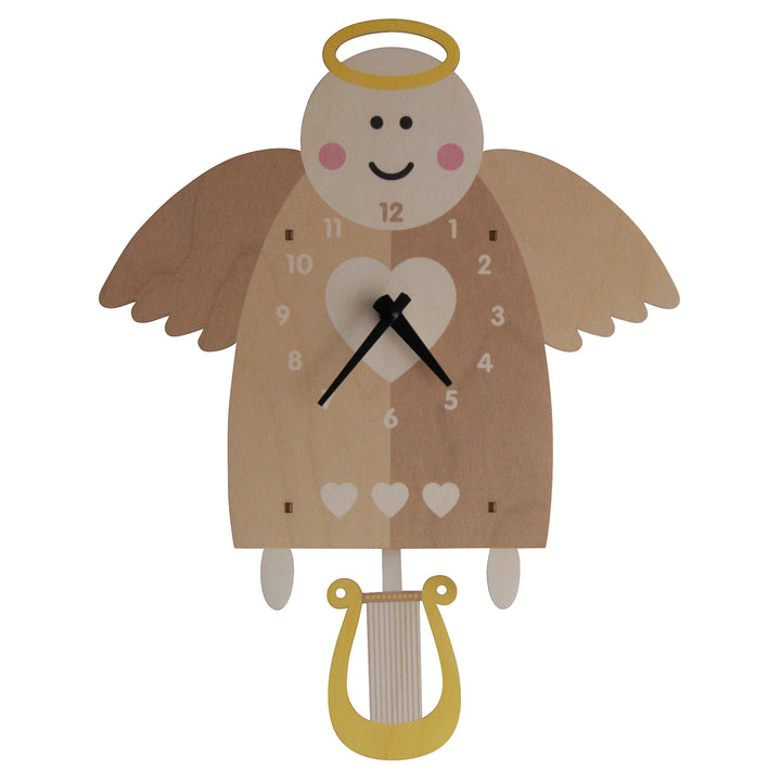 angel pendulum clock - modern moose - pendulum clock - 1