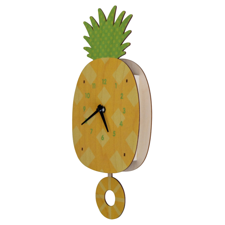 pineapple pendulum clock