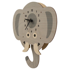 elephant head pendulum clock
