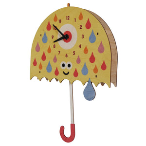 umbrella pendulum clock