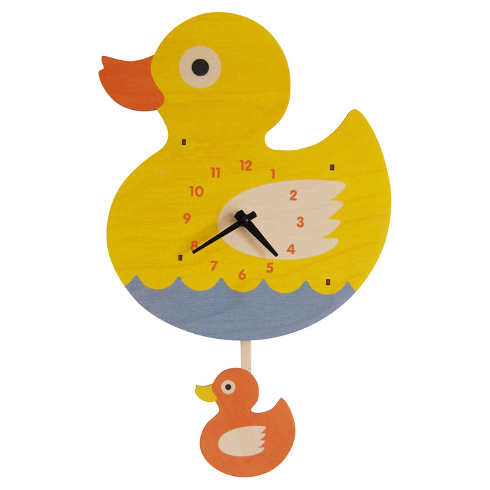 rubber duck pendulum clock