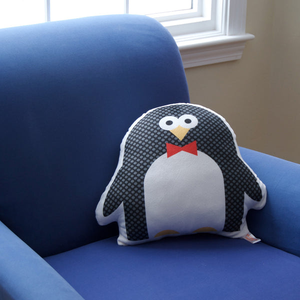 penguin pillow