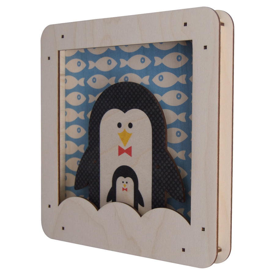 penguin shadowbox