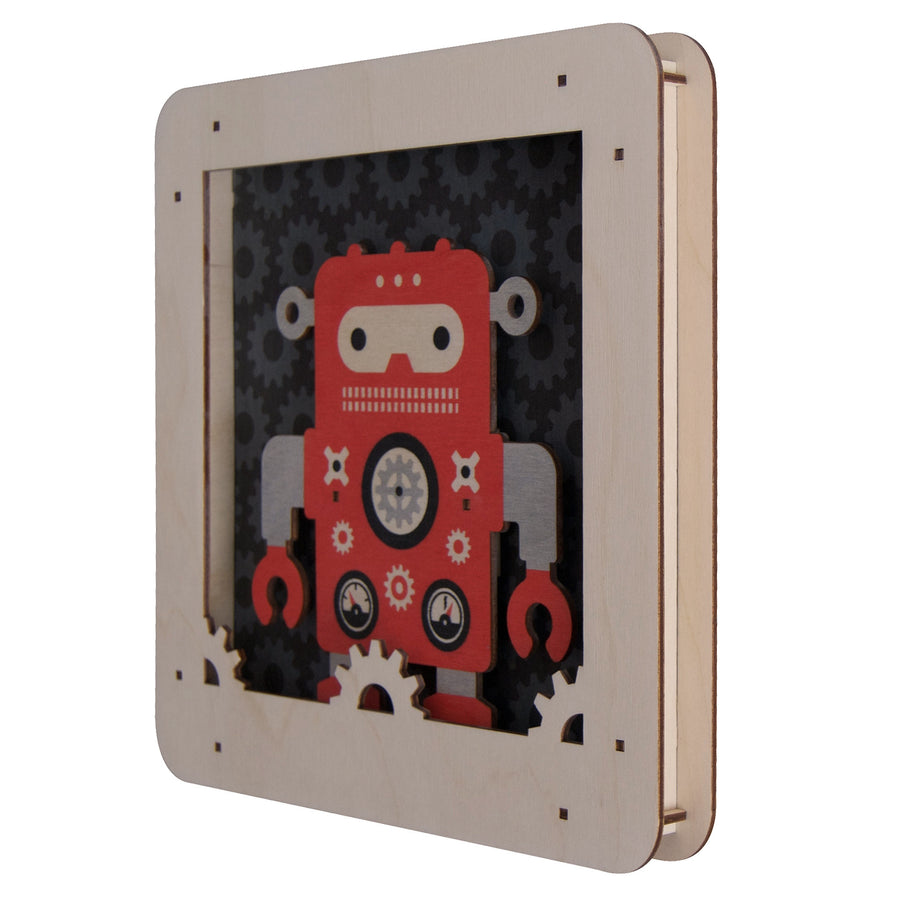 robot shadowbox