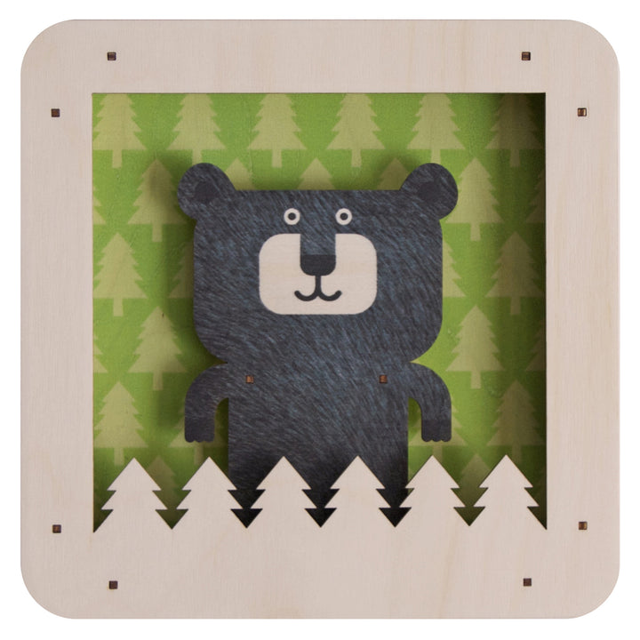 bear shadowbox