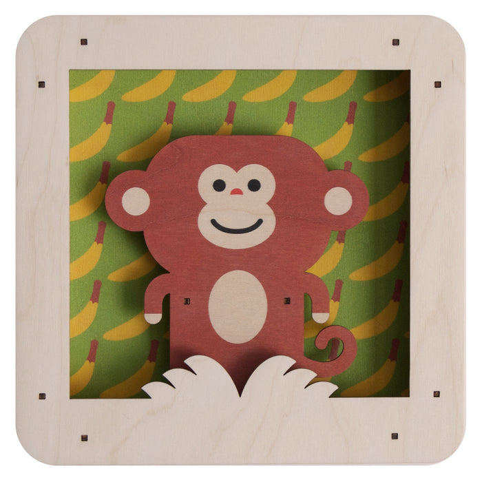 monkey shadowbox