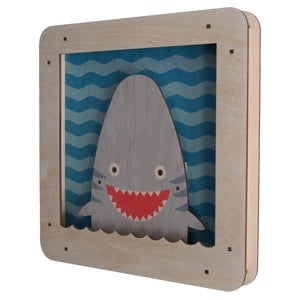 shark shadowbox