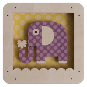 elephant shadowbox