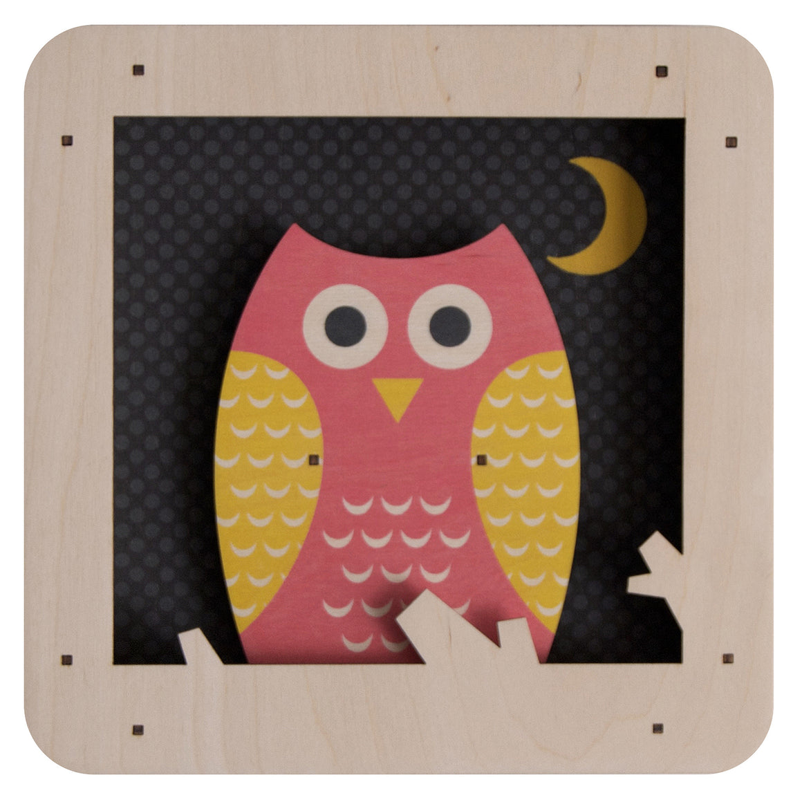 owl shadowbox