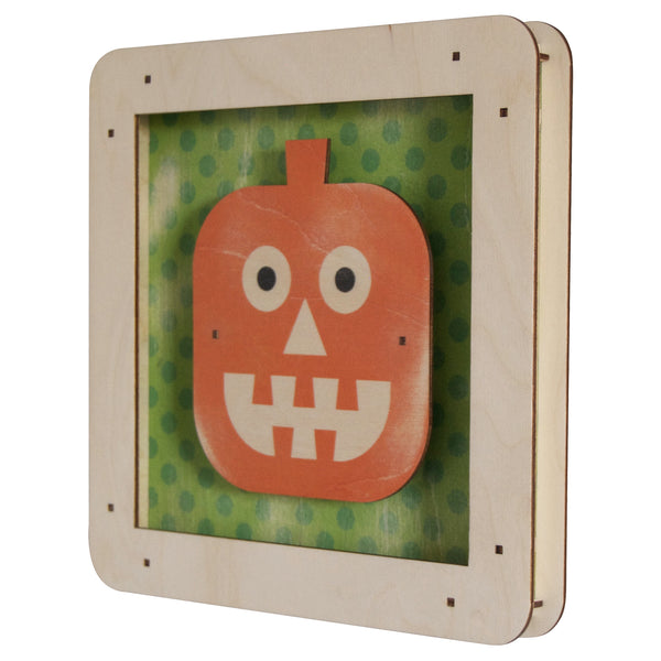 pumpkin shadowbox