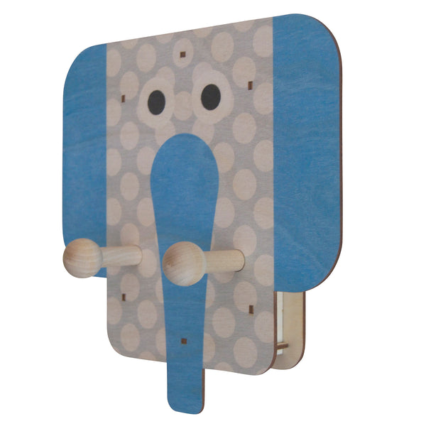 elephant wall pegs - modern moose - wall pegs - 1