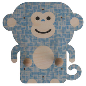 monkey wall pegs - modern moose - wall pegs - 4