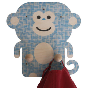 monkey wall pegs - modern moose - wall pegs - 6