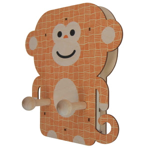 monkey wall pegs - modern moose - wall pegs - 2