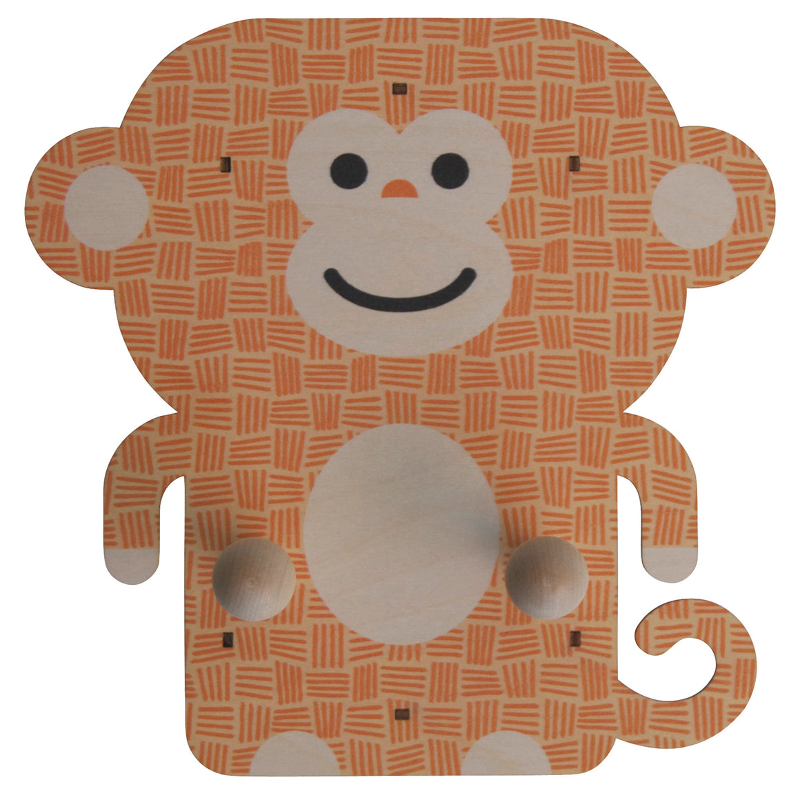 monkey wall pegs - modern moose - wall pegs - 1