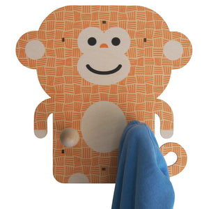 monkey wall pegs - modern moose - wall pegs - 3