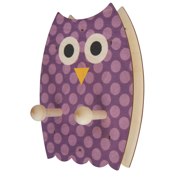 owl wall pegs - modern moose - wall pegs - 1