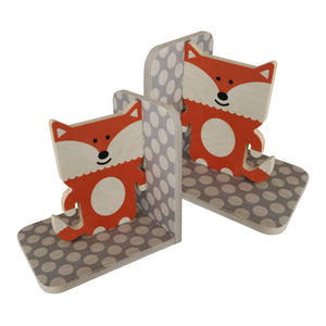 fox bookends - set of 2