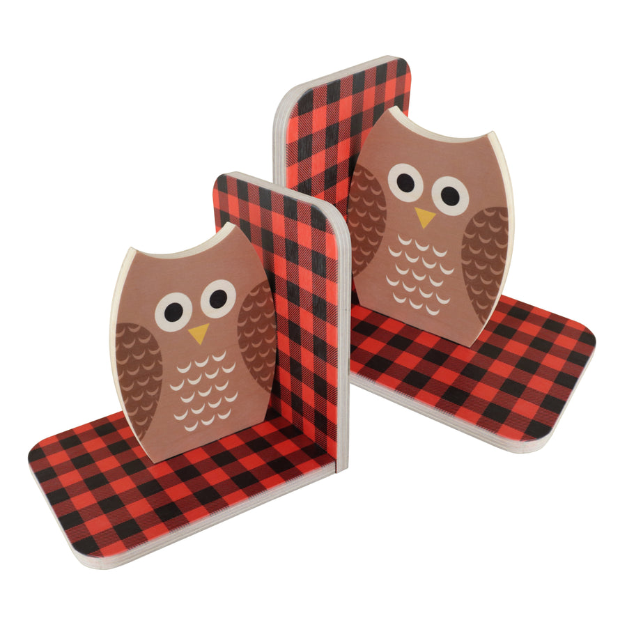 owl bookends - set of 2