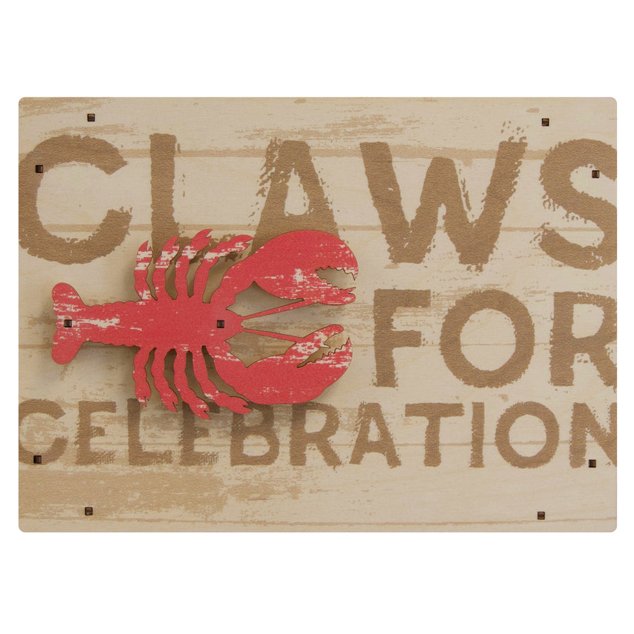 claws for celebration wall sign