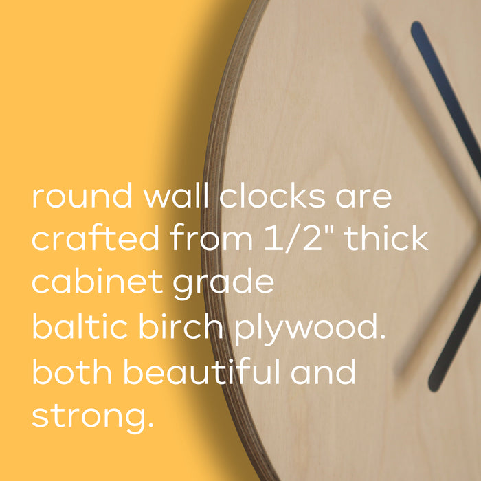 flowers round wall clock