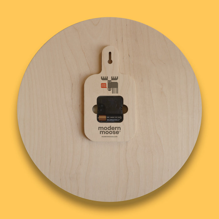 tree rings round wall clock