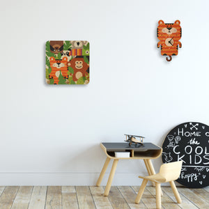 jungle theme wall pegs
