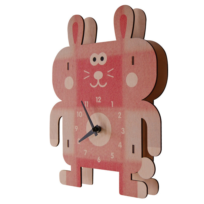 rosie rabbit - modern moose - clock - 2