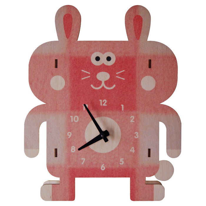 rosie rabbit - modern moose - clock - 1
