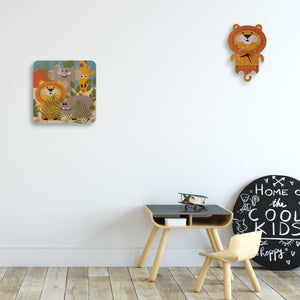 safari theme wall pegs