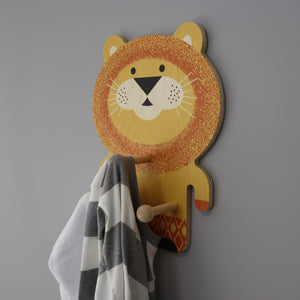lion wall pegs
