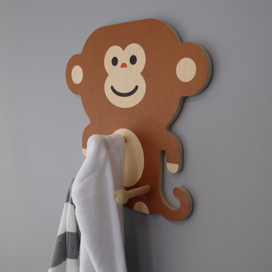 monkey wall pegs