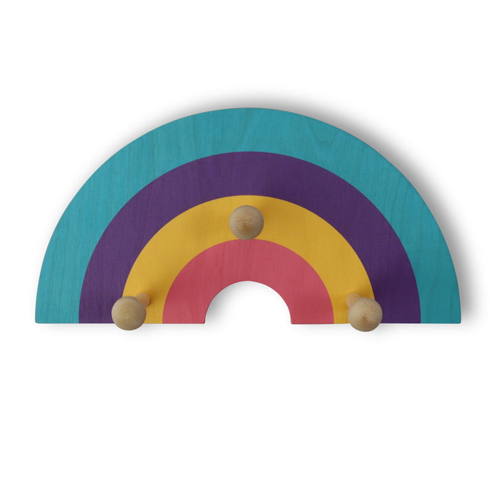 rainbow wall pegs