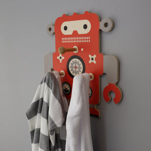 robot wall pegs