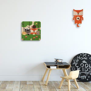 woodland theme wall pegs