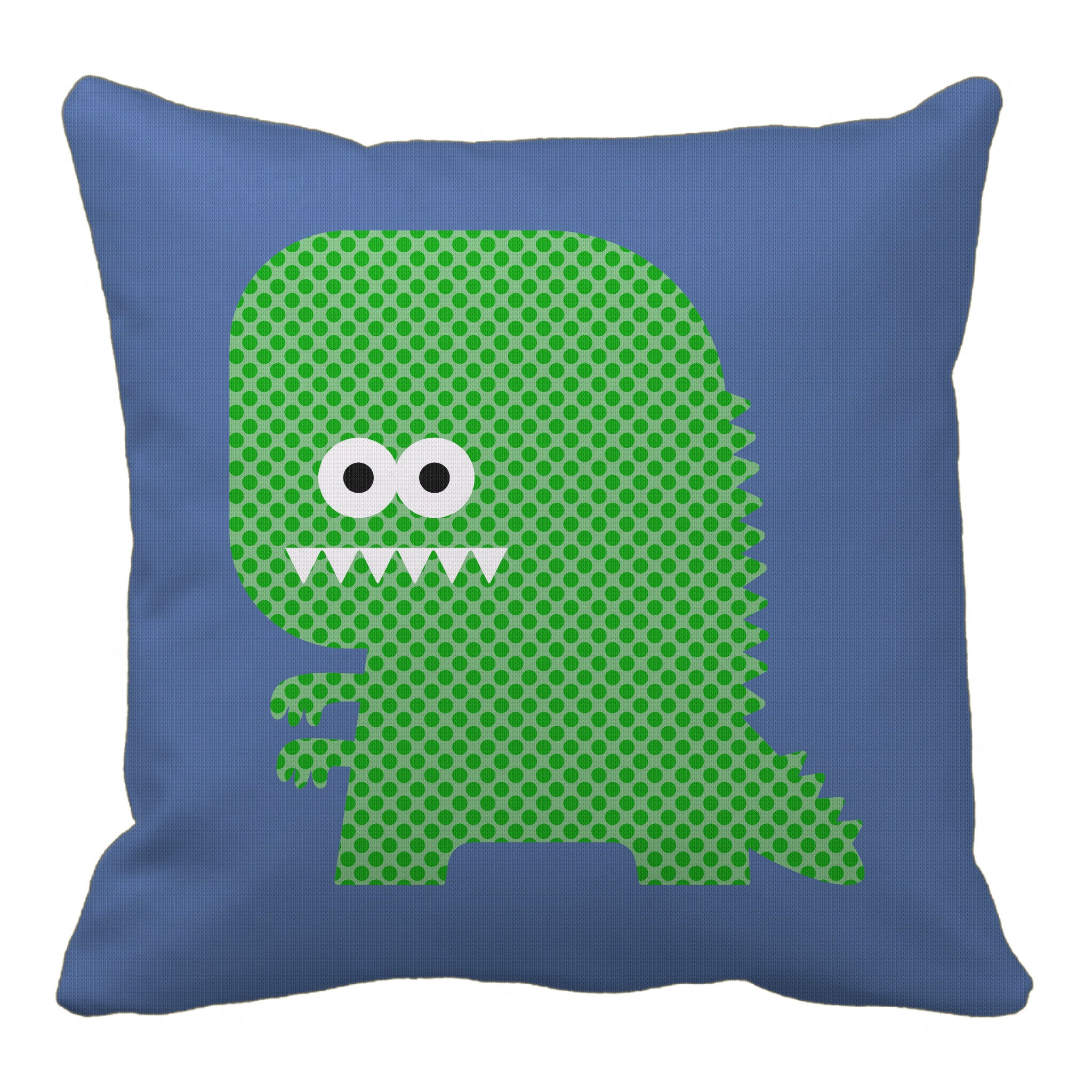 zilla reversible throw pillow