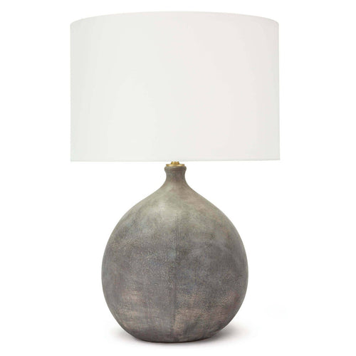Curved Ceramic Table Lamp